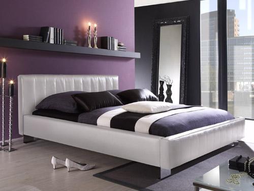 quelle ambiance chambre gris et violet. Black Bedroom Furniture Sets. Home Design Ideas