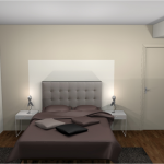 ambiance chambre taupe