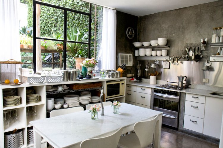 Style Ambiance Cuisine Gris