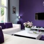 ambiance cuisine violet