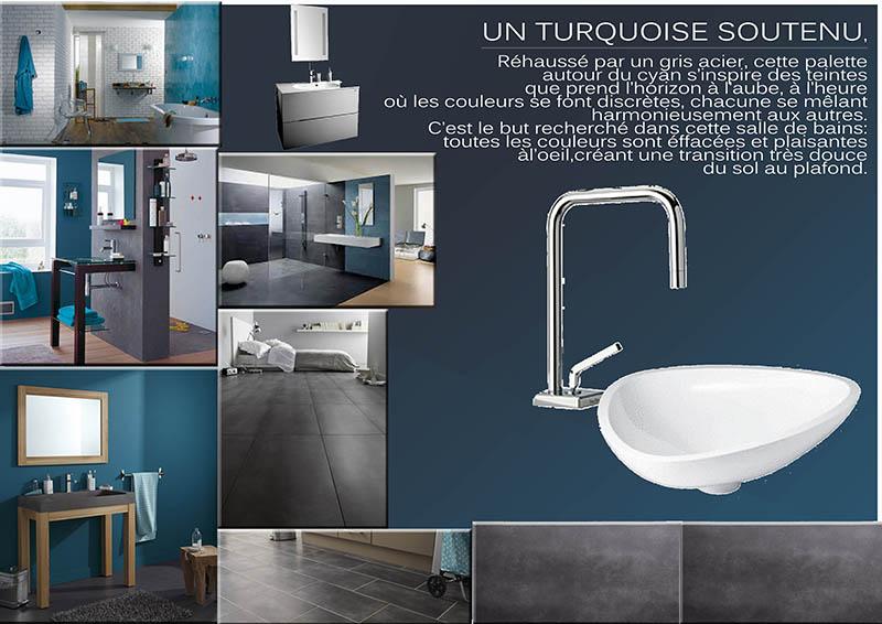Mod le ambiance salle de bain bleu for Salle de bain modele deco
