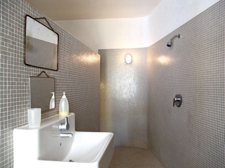 style ambiance salle de bain gris