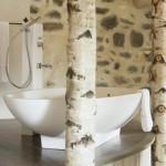ambiance salle de bain industriel
