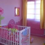 déco chambre bébé rose