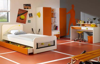 Nouvelle d co chambre gar on orange for Nouvelle deco maison