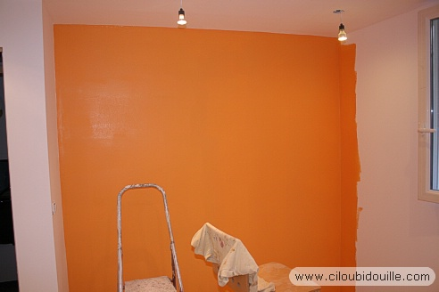Beautiful Peinture Chambre Orange Et Gris Gallery - Amazing House ...
