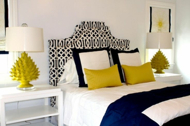 d co chambre jaune. Black Bedroom Furniture Sets. Home Design Ideas