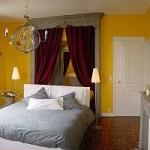 déco chambre jaune