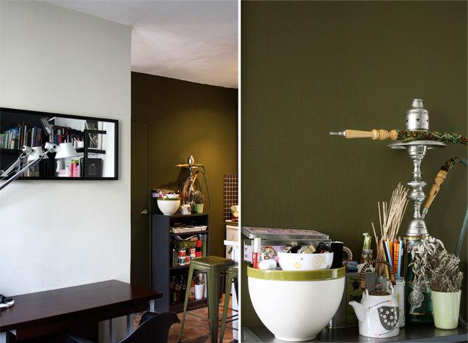 Deco kaki meilleures images d 39 inspiration pour votre for Deco photo salon