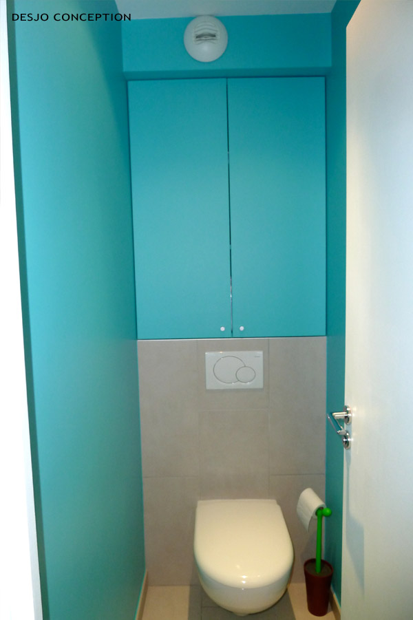 Inspiration d co wc toilettes turquoise for Photo deco wc
