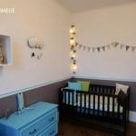 décoration chambre bébé turquoise
