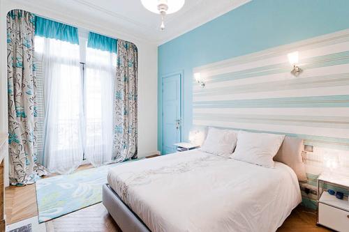 Comment decorer une chambre bleue - Comment avoir une belle maison ...