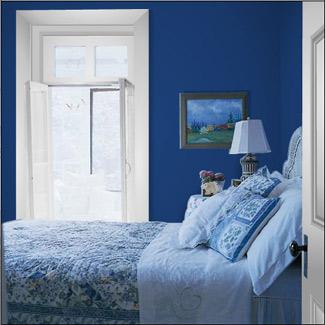 Style d coration chambre bleu - Deco chambre adulte bleu ...