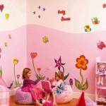 décoration chambre fille stickers