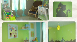 décoration chambre fille turquoise
