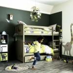 décoration chambre garçon kaki