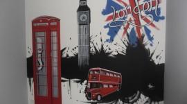 décoration chambre garçon london