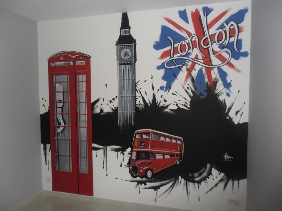 Decoration chambre london  Achat / Vente Decoration chambre london pas cher