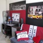 décoration chambre garçon new york
