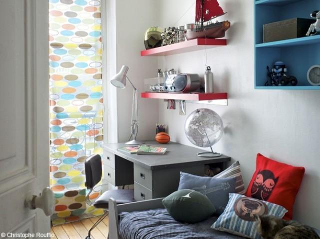 Guide d coration chambre gar on rouge - Deco chambre rouge ...