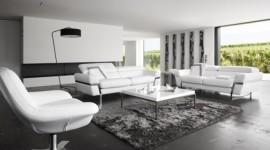 décoration salon blanc