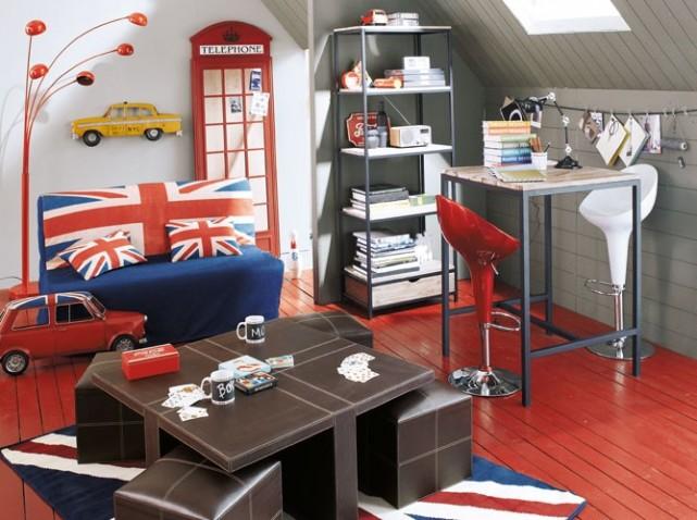 Quelle d coration salon london for Maison london