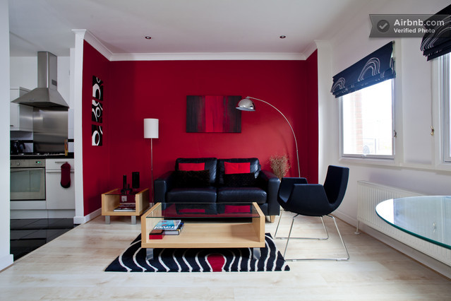 photo d coration salon rouge. Black Bedroom Furniture Sets. Home Design Ideas