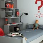 idée déco chambre bébé rouge
