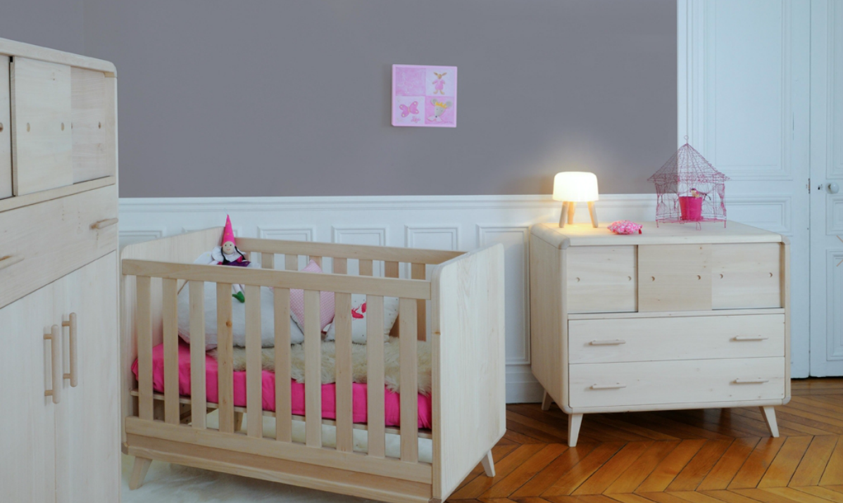 Id e d co chambre b b zen for Exemple deco chambre bebe