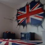 idée déco chambre garçon london