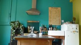 idée déco cuisine bleu
