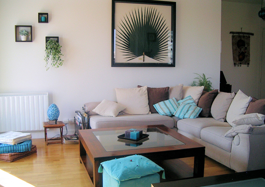 Conseil id e d co salle manger turquoise for Conseils decoration maison