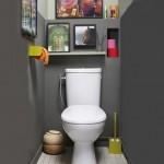 idée déco wc - toilettes tendance