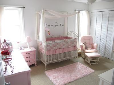 inspiration ambiance chambre bébé rose