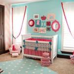 ambiance chambre bébé rose