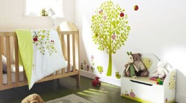 ambiance chambre fille nature