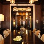ambiance salle à manger orientale