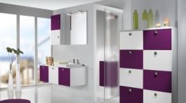 ambiance salle de bain prune