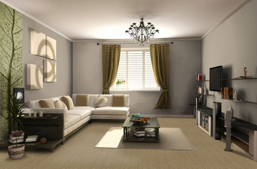 ambiance salon beige. Black Bedroom Furniture Sets. Home Design Ideas