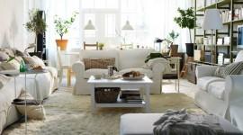 ambiance salon blanc