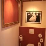 ambiance wc - toilettes orange