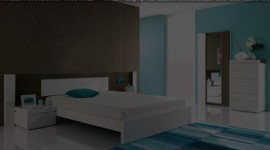 déco chambre turquoise