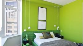 déco chambre vert