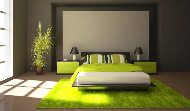 Inspiration d co chambre vert - Inspiration deco chambre ...