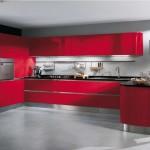 déco cuisine rouge