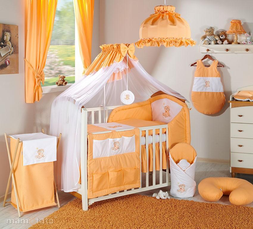 conseil décoration chambre bébé orange