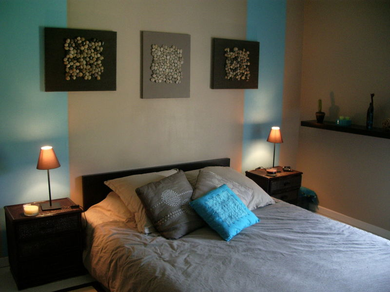 d coration chambre turquoise. Black Bedroom Furniture Sets. Home Design Ideas
