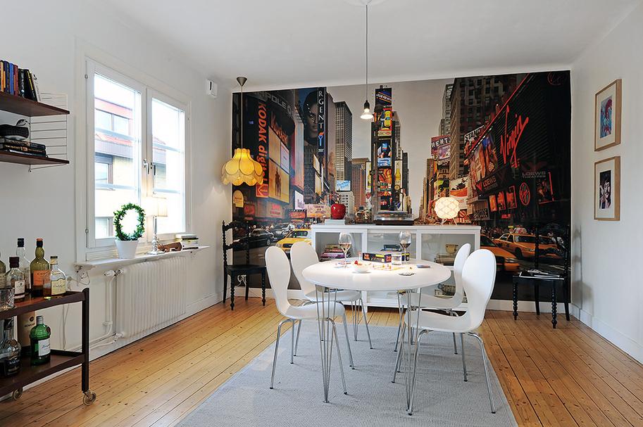 décoration salle à manger new york