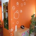 décoration salle à manger stickers