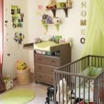 idée déco chambre bébé kaki